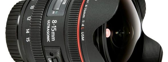 fisheye Canon USM EF 8-15mm f/4 L